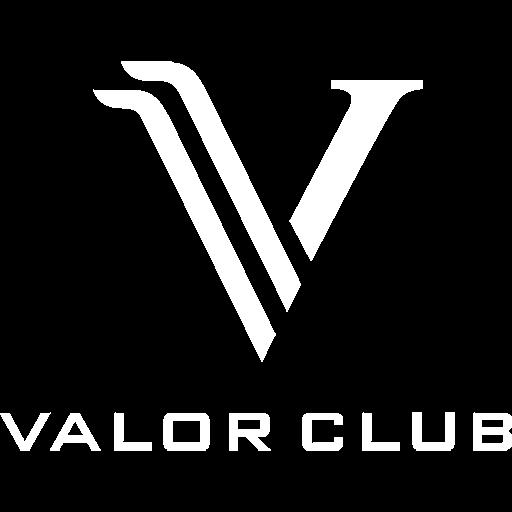 Valor Club logo - white